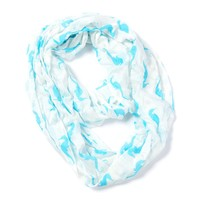 Seahorse Infinity Scarf  | Icing