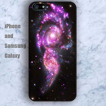 Explosion Nebula iPhone 5/5S case Ipod Silicone plastic Phone cover Waterproof