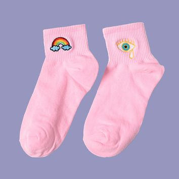 I See The Rainbow | Pink (Set of 2)