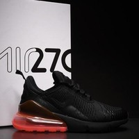Nike Air Max 270 Hot Punch Sport Running Shoes AH8050-010 - Best Online Sale