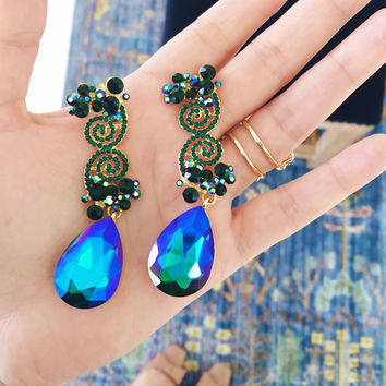 Midnight Starry Nights Earrings