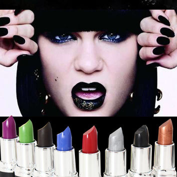 Hot! 8 Different Colors Sexy Lipstick Waterproof long lasting moisturizing Lip Beauty Lip Gloss Makeup New Fashion Party