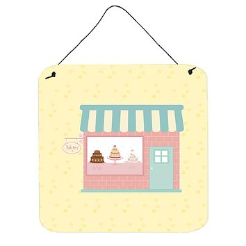 Bake Shoppe on Yellow Wall or Door Hanging Prints BB7284DS66