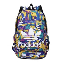 Adidas Fashion Print Multicolor Sport Shoulder Bag Travel Bag School Backpack