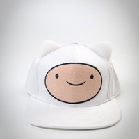 Adventure Time 'Finn' Ears Snapback Hat