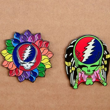 Grateful Dead Predator - HAT PIN