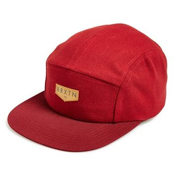 Men's Brixton 'Haft' Five Panel Cap