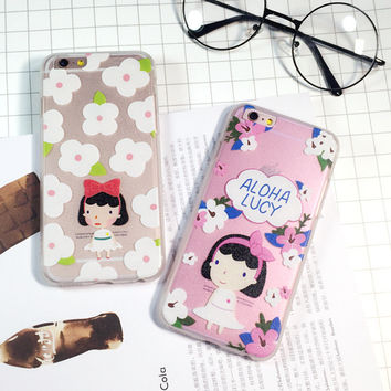 Cute Stylish Hot Sale On Sale Hot Deal Iphone 6/6s Korean Roman Apple Girl Lovely Phone Case [6034144833]