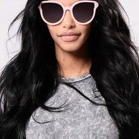 Samantha Sunglasses - Pink
