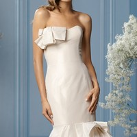 Strapless Gown by WTOO Brides