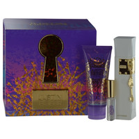 JUSTIN BIEBER THE KEY by Justin Bieber EAU DE PARFUM SPRAY 3.4 OZ & BODY LOTION 3.4 OZ & EAU DE PARFUM .17 OZ MINI