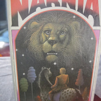 1970 Edition (1st Collier's Edition) Chronicles of Narnia Complete Paperback Set of 7