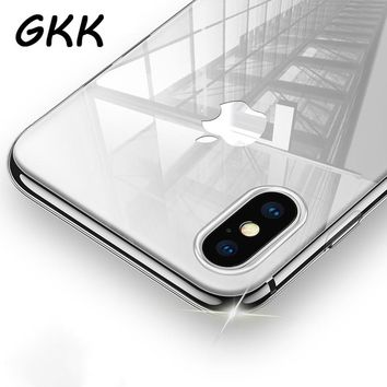 Transparent Case For iPhone X Ultra Thin
