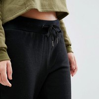 South Beach Black Jogging Bottom at asos.com