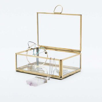 Glass Jewellery Box - Urban Outfitters
