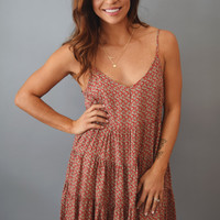 Colorado Pine Cami Dress Ruby