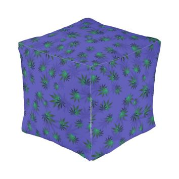 Cannabis Outdoor Pouf