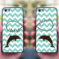 iPhone 5S case,Best Friends,Dolphin,iphone 5C case,iphone 5 case,iphone 4 case,iphone 4s,ipod case,Samsung and Blackberry Series