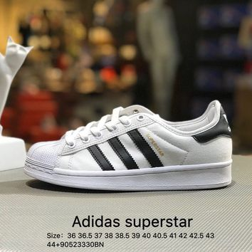 Adidas Superstar Women Men White Black Casual Running Sport Shoes Sneakers - S82569