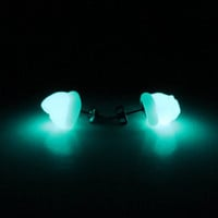 Glow In The Dark Glass Earrings - Better Than Diamonds