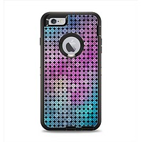The Vibrant Colored Abstract Cells Apple iPhone 6 Plus Otterbox Defender Case Skin Set