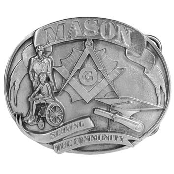 Sports Accessories - Mason Antiqued Belt Buckle
