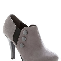Button Up and Running Bootie | Mod Retro Vintage Boots | ModCloth.com