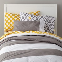 Widest Stripe Bedding in Girl Bedding | The Land of Nod
