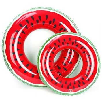 LONMF Watermelon Swimming Ring Inflatable Floats pool Swimming Float For Adult Floats inflatable Watermelon Swim Ring Water Sports Toy
