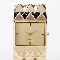 Pyramid Studded Watch