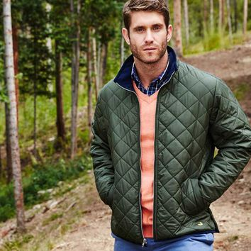 Southern Marsh Marshall Quilted Jacket for Men in Dark Green SM-OMQJ-DGR