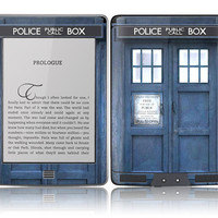 Amazon Kindle Touch Skin Cover - Tardis Doctor Who Police Call Box