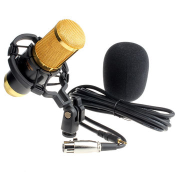 Sound Studio Dynamic Mic + Shock Mount BM800 Condenser Microphone INY66