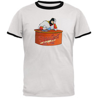 Space Ghost - At Desk Ringer T-Shirt