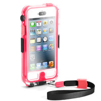 Griffin Survivor + Catalyst Waterproof Case for iPhone 5 5S Pink