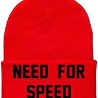 Need For Speed beanie