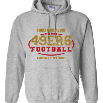 San Francisco 49ers Football Sweater NFL 49ers Football Birthday Gift Christmas Gift Ultimate Football Fan Custom Hoodie Team Pride BD-249