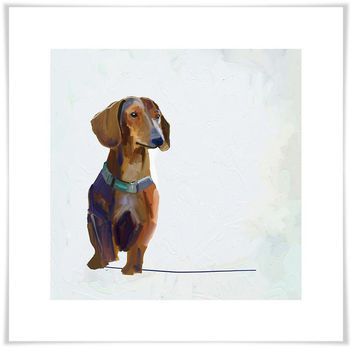 Best Friend - Dachshund Wall Art