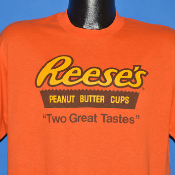 80s Reese's Peanut Butter Cups t-shirt Large