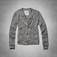 Codie Fleece Moto Jacket