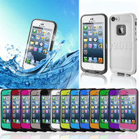 Choose Color Waterproof Shockproof Dirt Proof Durable Case For Apple iPhone 5S 5