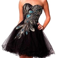 Short Homecoming Sexy Graduation Party Ball Bridesmaid Dress