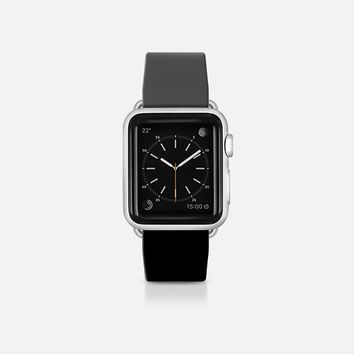Grey and black  - Bicolor collection Apple Watch Band (38mm)  by WAMDESIGN | Casetify