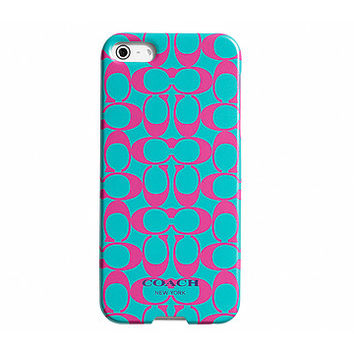 COACH Signature Case for iPhone® 5 Teal - Zappos.com Free Shipping BOTH Ways