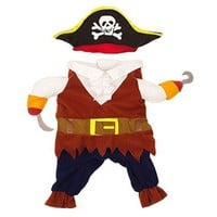 Funny Pirate Pet Cat Costume Dog Clothes for Cat Outfit Suit Dog Cats Clothes Corsair Dressing up Clothes for Chihuahua 40