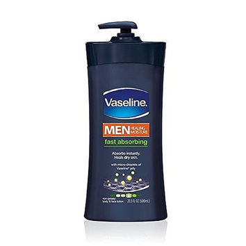 Vaseline Men Body and Face Lotion , 20.3 Ounce Bottle
