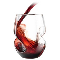 Conundrum Wine Glasses – Red, Set of 4 by Final Touch | Wine Glasses & Wine Tools Gifts | chapters.indigo.ca