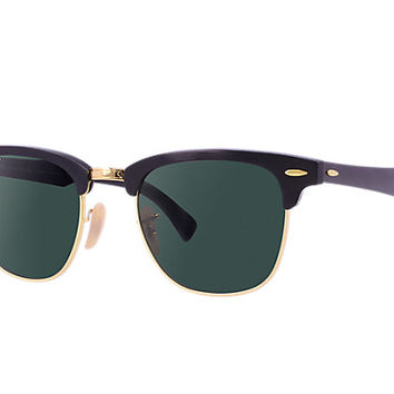 Look who's looking at this new Ray-Ban Clubmaster Aluminum