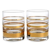 kate spade new york 'hampton street' double old-fashioned glasses (set of 2)