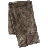 Luxe Faux Fur Chinchilla Throw